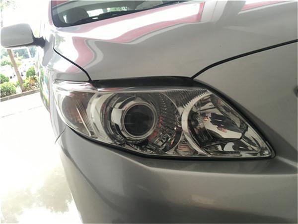 丰田10款卡罗拉改Q5透镜案例