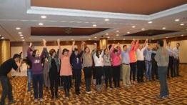 赛诺菲医药鲁西南大区销售团队拓展训练顺利结束。