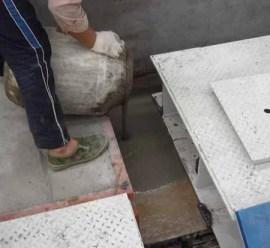 灌浆料基础处理施工