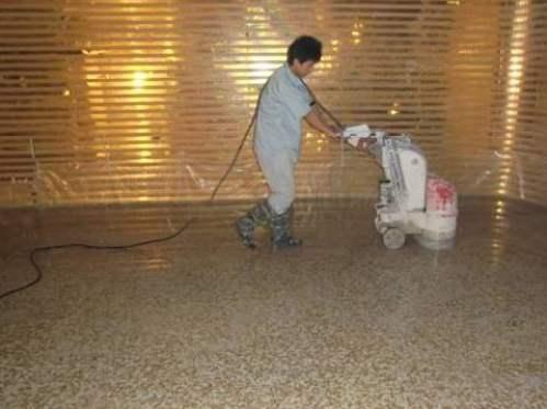 水磨地面清洗