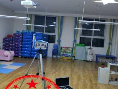 西安雅馨智能幼儿园甲醛检测治理施工开始