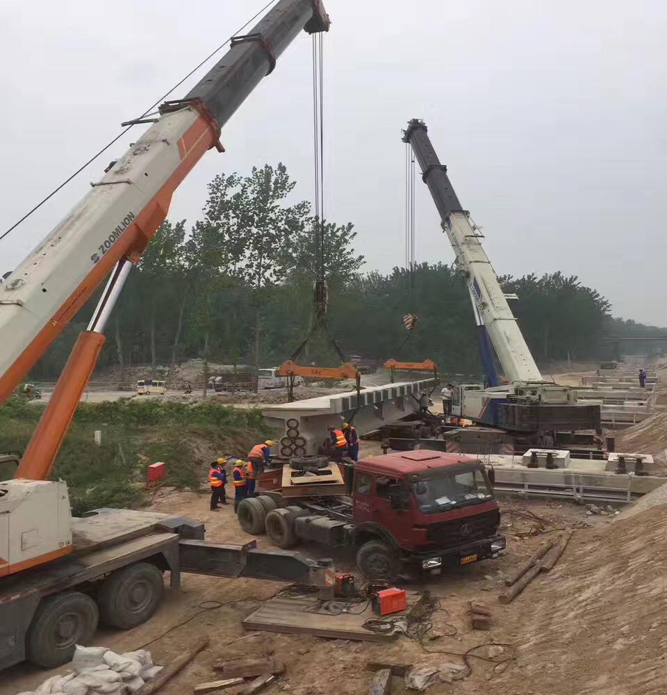 平泉工程吊装案例