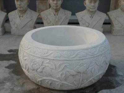 石雕花盆案例展示