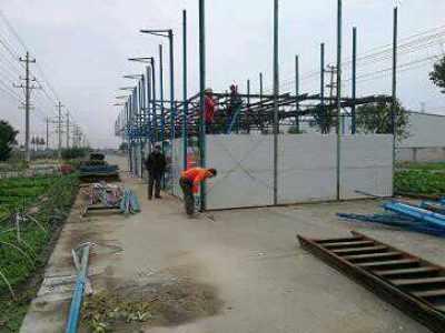 可拆可装的活动厂房隔墙隔断