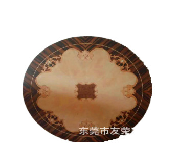 圆桌面板拼花