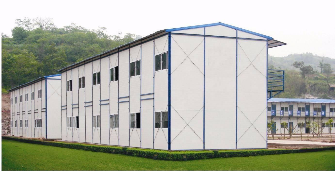 杭州彩钢板活动板房