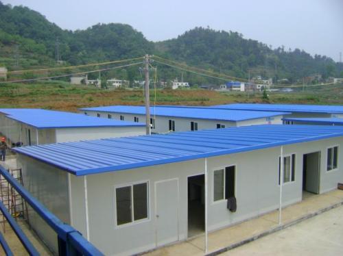 杭州T式单层活动板房