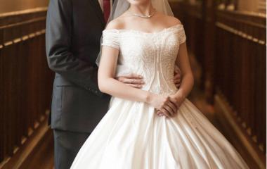 张宾锦先生的结婚西服定制