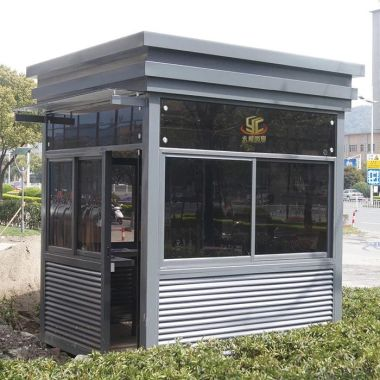 镀锌钢板隔音岗亭 可装空调  成品出货  永昶岗亭厂家 全国销售