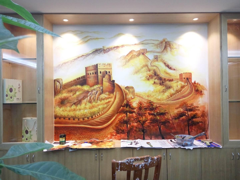 家装壁画作品
