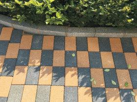 透水砖工程案例