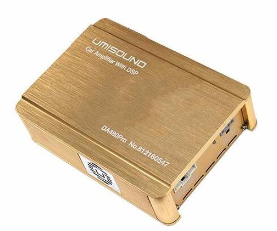 汽车音频处理器优美声DA480音效大功率功放车载音响改装DSP功放机
