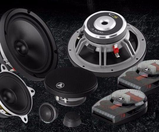 美国捷力JL Audio汽车音响C5-653额定功率75瓦三分频套装喇叭