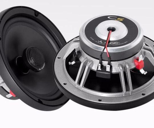 美国捷力JL Audio汽车音响C5-650x额定功率75瓦6.5寸同轴套装喇叭