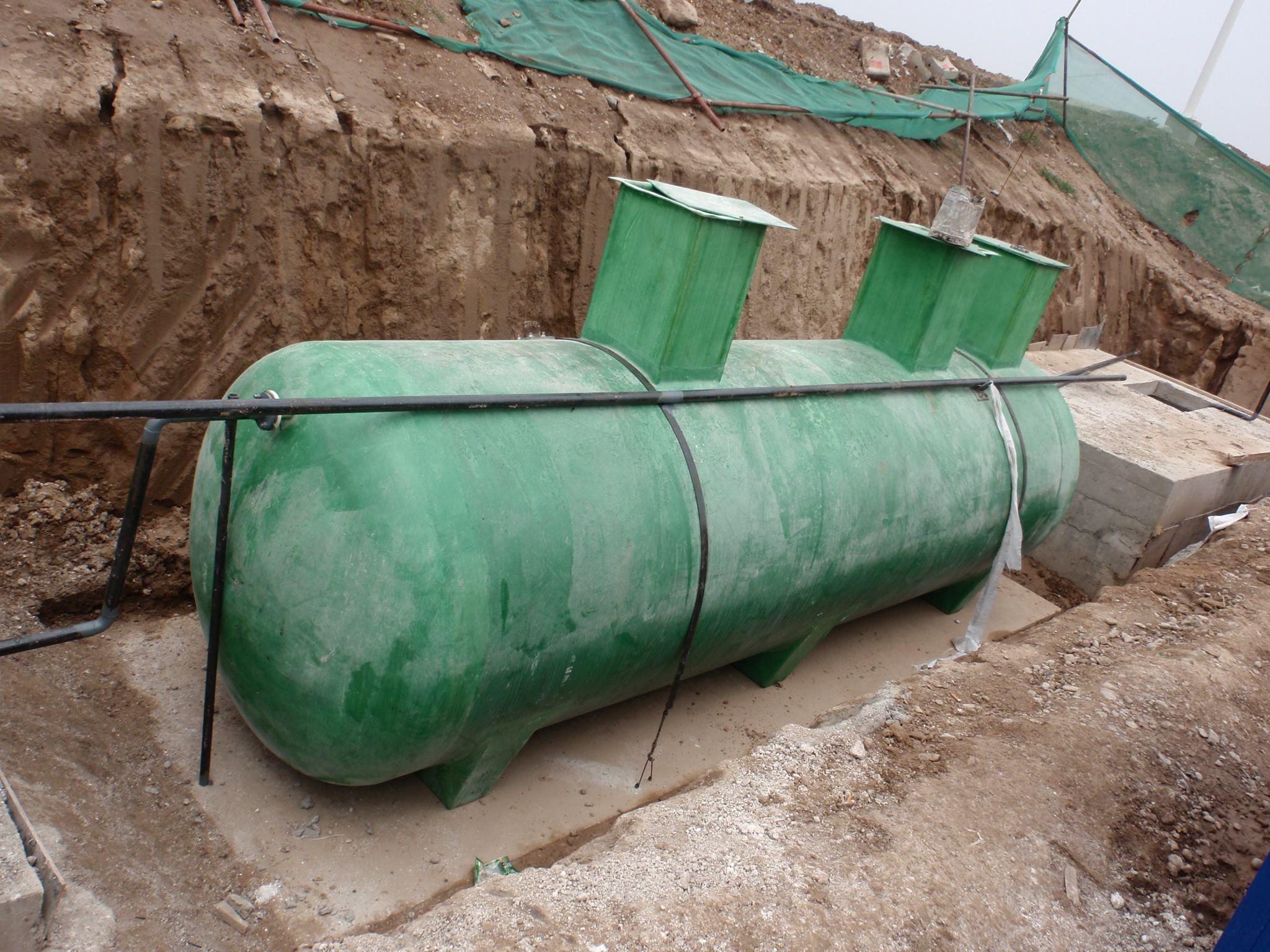 泉州玻璃钢化粪池如何处理生活污水与代谢废物