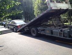 乐陵附近拖车救援1