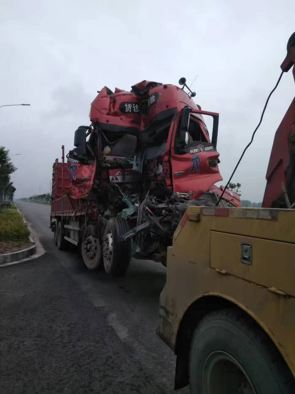 大型卡车事故救援