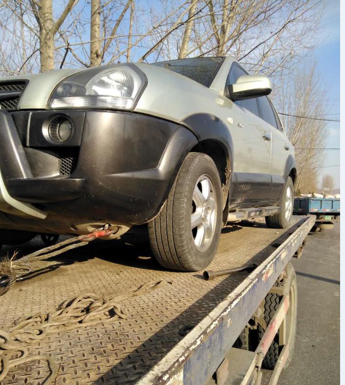兰州拖车救援:小型轿车汽车故障救援