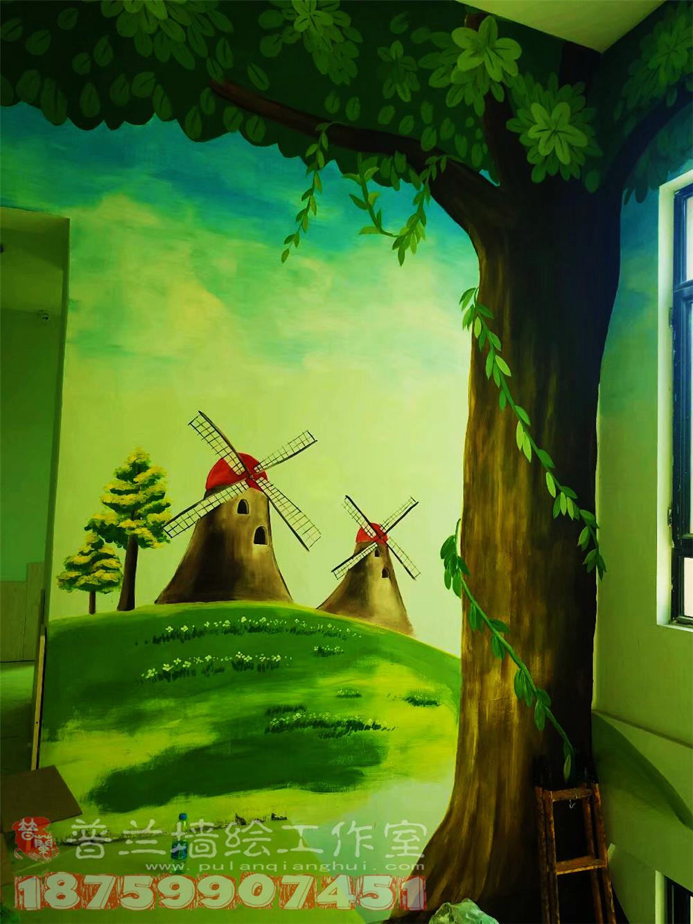 幼儿园教室外墙海洋主题图片大全