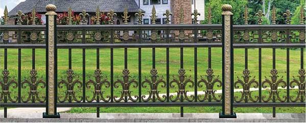 怎样去除铝艺护栏的锈迹和焊渣?