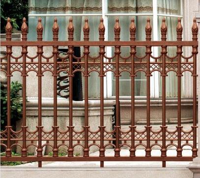 别墅庭院铝艺大门--选购高质量的围栏有什么方法?