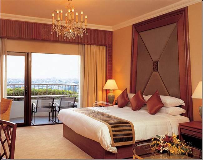 中山窗帘和卧室完美配搭
