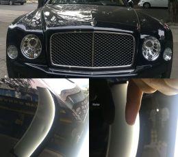 Bentley Mulsanne宾利慕尚车身凹陷无痕修复