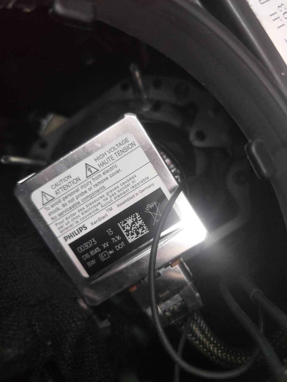 凯迪拉克xt5改灯案例