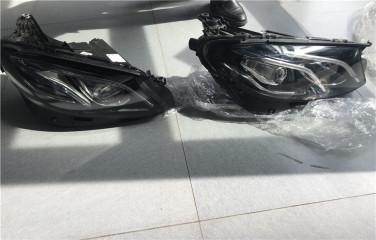 奔驰E300几何大灯  奔驰原厂改装,北京星辉无界奔驰原装改装