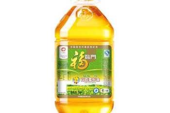 福临门精炼一级双低菜籽油
