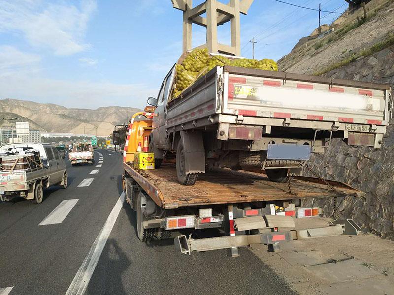 兰州拖车救援
