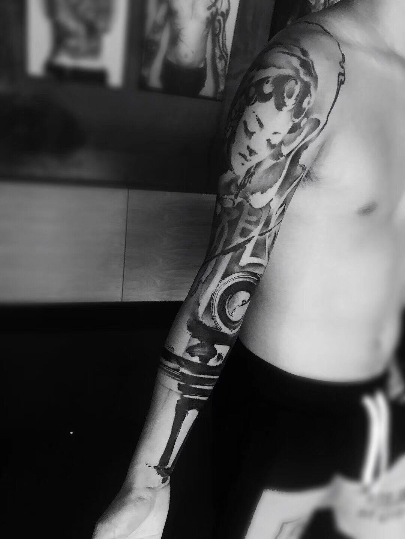 厦门業刺青纹身作品