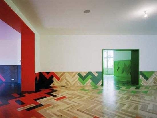 谁说PVC地板只是配角 个性地板带你感受不一样的品味