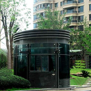 镀锌钢板类 圆弧岗亭 直角岗亭 异形岗亭 专业设计 任意样式
