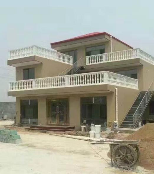 水泥活动房模具别墅