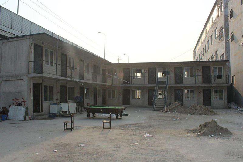 水泥活动房模具工人住房