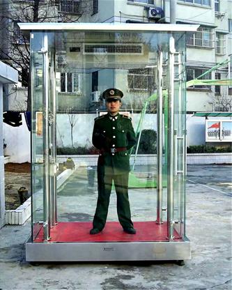 玻璃类岗亭