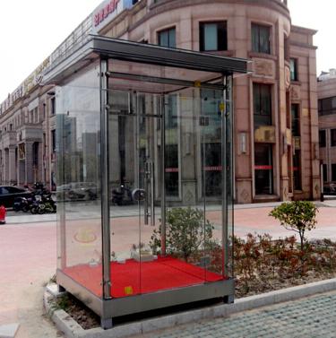 玻璃类岗亭 防弹玻璃 中空玻璃 夹胶玻璃 支持定做 全国销售