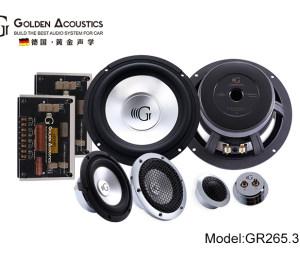 黄金声学GR265.3三分频套装