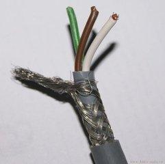4带屏蔽电源线