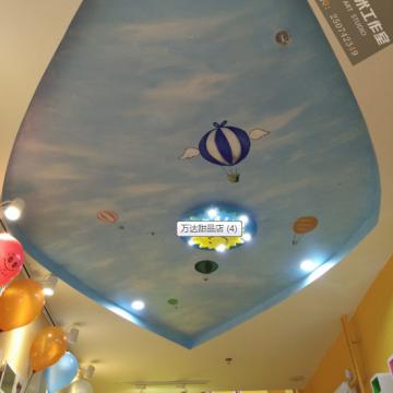 北京牆體彩繪提示:商業店鋪彩繪的技巧 要把握的要點