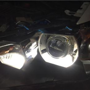 宝马X1灯光改装
