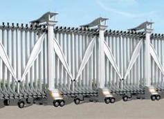 银川电动伸缩门:电动伸缩门的主要特点