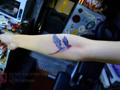连江纹身小鸟纹身