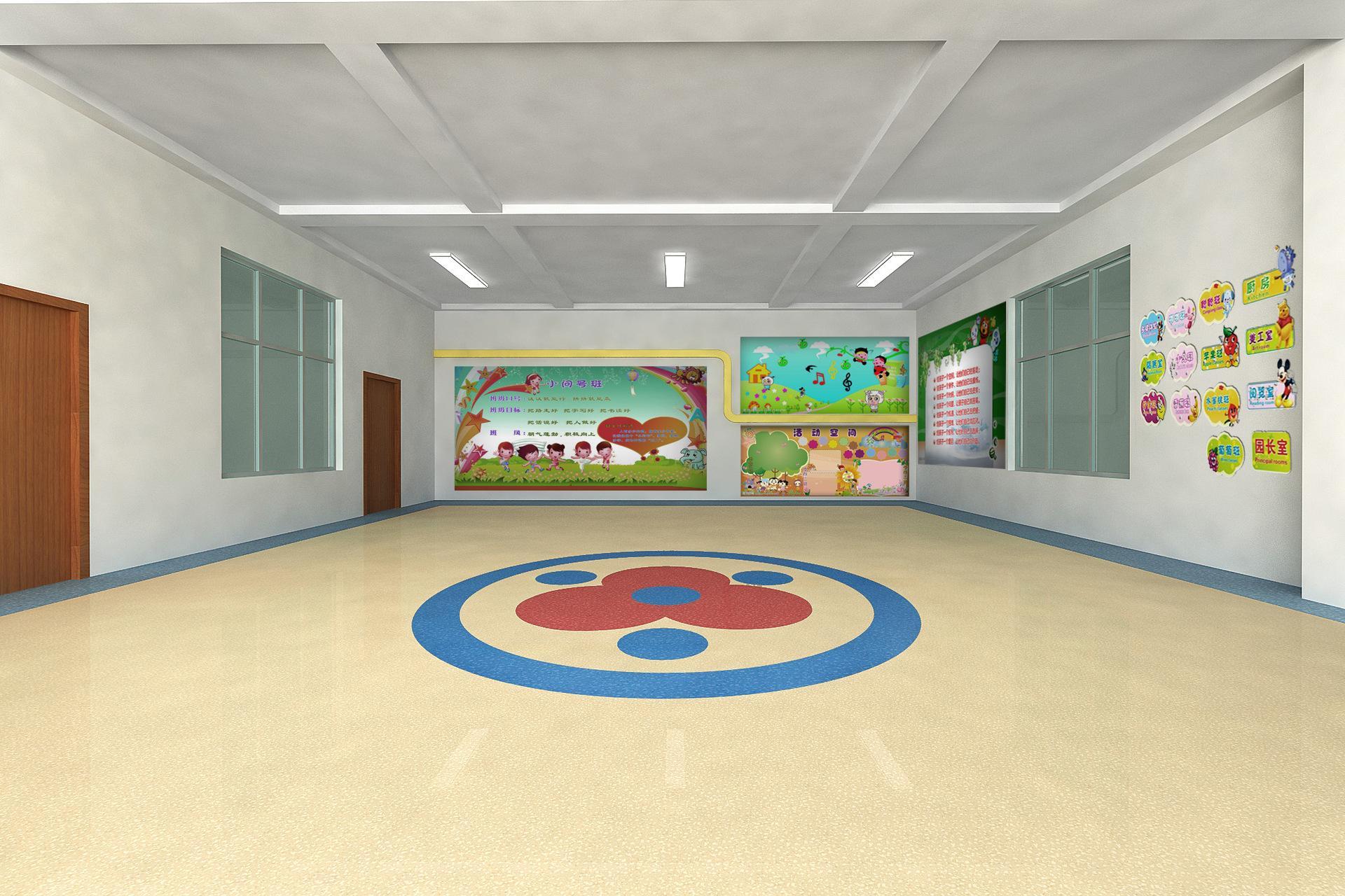 幼儿园pvc地板效果展示图