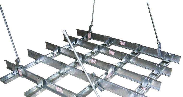 厦集成模块化吊顶施工图案例效果图
