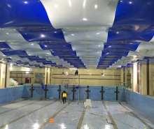南京游泳池软膜安装