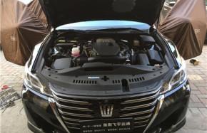 音响改装车型:丰田皇冠