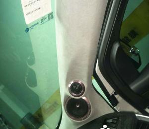 福特锐捷汽车音响改装德国黄金声学汽车喇叭