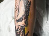 赣州纹身人物作品